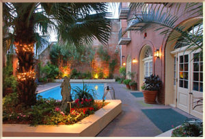 Hotel St. Marie Courtyard and Pool, French Quarter